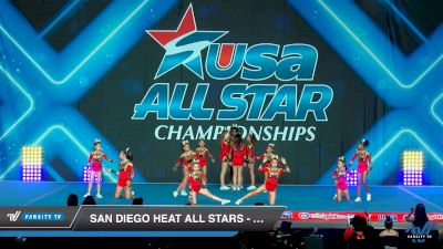 San Diego Heat All Stars - Lady Evolution [2019 Junior - D2 - Small - A 2 Day 2] 2019 USA All Star Championships