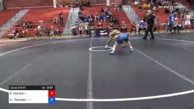 61 kg Consolation - Eron Haynes, Nebraska vs Alex Thomsen, Nebraska Wrestling Training Center