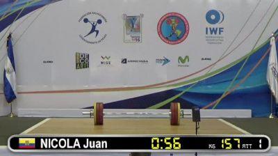2016 Pan American Junior Championships Day 5 (Part 3)