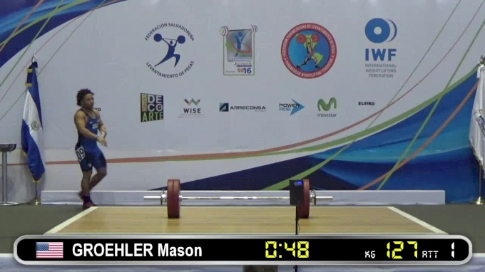 Mason Groehler: 2016 Junior Pan Ams
