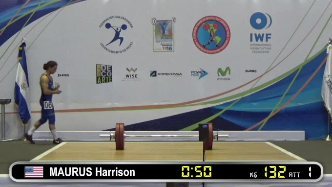 Harrison Maurus: 2016 Junior Pan Ams