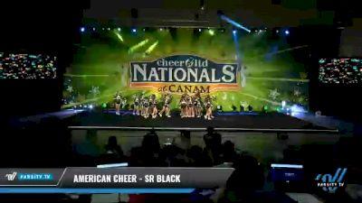 American Cheer - SR BLACK [2021 L3 Senior Coed Day 2] 2021 Cheer Ltd Nationals at CANAM
