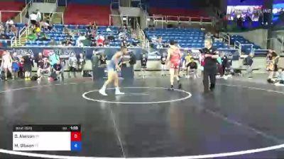 126 lbs Consolation - Dmitri Alarcon, Colorado vs Mason Gibson, Pennsylvania