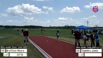 Replay: Javelin Throw - 2021 AAU Junior Olympic Games | Aug 7 @ 11 AM