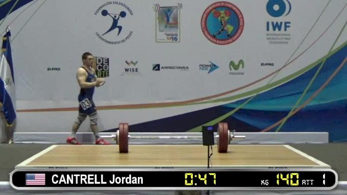 Jordan Cantrell: 2016 Junior Pan Ams