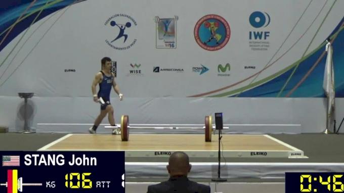 John Stang: 2016 Junior Pan Ams
