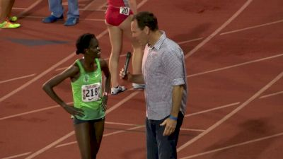 Sally Kipyego wins Payton 5k in sub 15