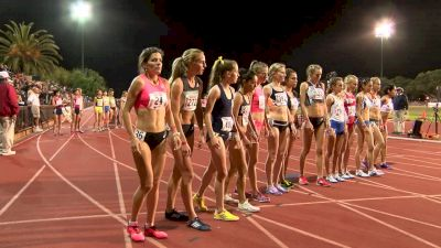 Women's 10k, Heat 1 - Irene Cheptai Leads 23 women under Olympic standard