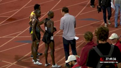 Bernard Lagat Chelanga and Futsum after big 10k runs at Payton 2016