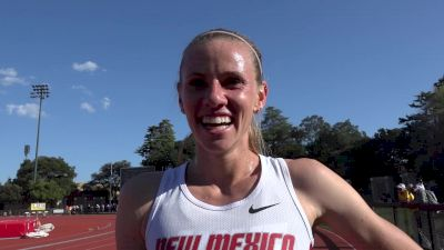 Courtney Frerichs after 2016 steeple debut and PR at Payton