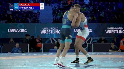 82 kg Repechage #2 - Ranet Kaljola, Estonia vs Alex Bjurberg Kessidis, Sweden
