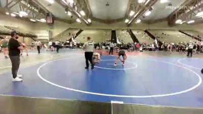 140 lbs 2nd Place - Frank Volpe, Barn Brothers vs Gavin Haegele, Eastern Regional