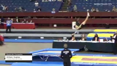 William  Hughes  - Double Mini Trampoline, Extreme Cheer and Tumble  - 2021 Region 3 T&T Championships