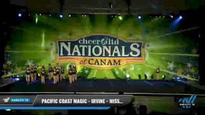 Pacific Coast Magic - Irvine - Miss Twist [2021 L5 Senior Day 2] 2021 Cheer Ltd Nationals at CANAM