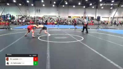 125 lbs Prelims - Dominic LaJoie, Cornell vs Devin Schroder, Purdue