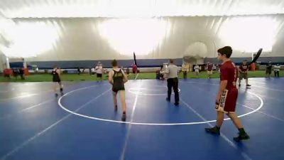 136 lbs Rr Rnd 5 - Nicholas Varvak, Sharon vs William Nicolls, Doughboy
