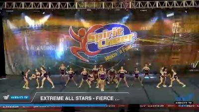 Extreme All Stars - Fierce Cats [2021 L2 Junior - D2 - Medium Day 1] 2021 South Florida DI & DII Nationals