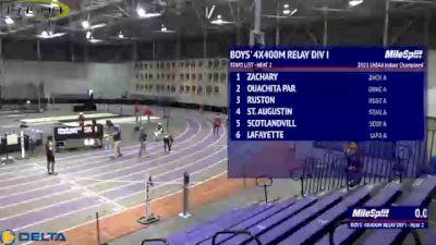 High School Boys' 4x400m Relay Division 1, Finals 2