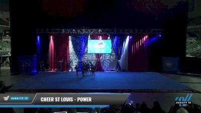 Cheer St Louis - Power [2021 L2.1 Senior - PREP Day 1] 2021 The American Gateway DI & DII