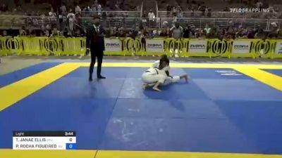 TAYLOR JANAE ELLIS vs PRISCILLA ROCHA FIGUEIREDO 2021 Pan Kids Jiu-Jitsu IBJJF Championship