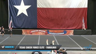 Texas Cheer Force Elite - Fabulous [2021 L1 Tiny - Novice - Exhibition Day 1] 2021 ACP Power Dance Nationals & TX State Championship