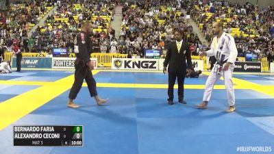Alexandro Ceconi vs Bernardo Faria IBJJF 2016 Worlds