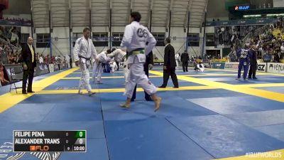Felipe Pena vs Alexander Trans IBJJF 2016 Worlds