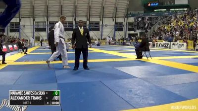 Mahamed Aly vs Alexander Trans IBJJF 2016 Worlds