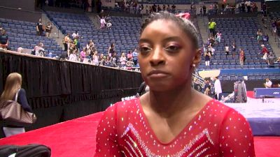 Simone Biles on the Electric Crowd and Officially Being on the 'Road to Rio' - Secret Classic 2016