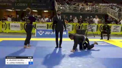 OILSON VALDINEI ALVIM JUNIOR vs MATEUS LOPES FERREIRA 2021 Pan Jiu-Jitsu IBJJF Championship