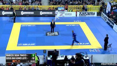 Marcos Tinoco Vs Lucas Leite IBJJF 2016 Worlds