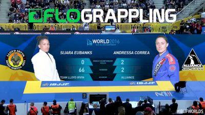 Sijara Eubanks Vs Andresa Correa IBJJF 2016 Worlds