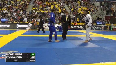 Michael Langhi vs Kevin Mahecha IBJJF 2016 Worlds