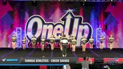 Famous Athletics - Cheer Savage [2021 L3 Junior - D2 - Small Day 2] 2021 One Up National Championship