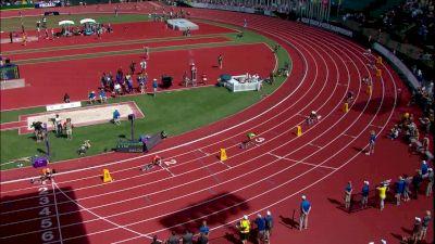 Women's 4x100m Relay, Final - LSU pulls away from the field