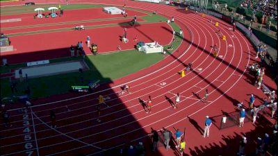 Women's 4x400m Relay, Final - Courtney Okolo with nasty kick