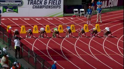 Women's 100m, Final - Ariana Washington wins first NCAA title