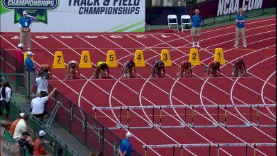 Women's 100m Hurdles, Final - Freshman Upset Camacho-Quinn FTW