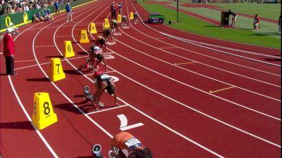 Women's 200m, Final - Washington sweeps the sprints