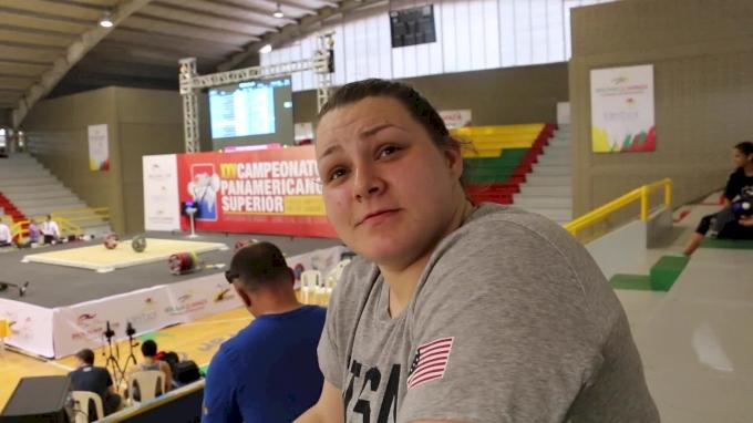 Marissa Klingseis at 2016 Senior Pan Ams