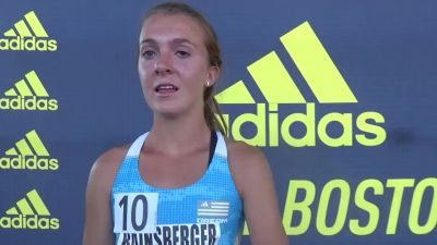 Katie Rainsberger after second in Dream 1500