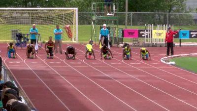 Boy's 100m, Final