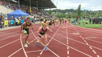 Boy's 800m, Final - Chaotic collision with 200m to go