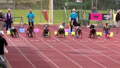 Girl's 100m, Final