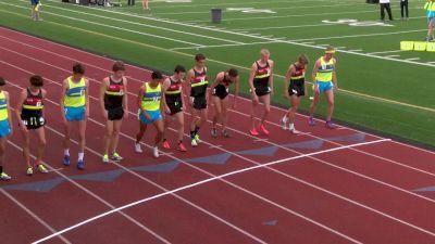 Boy's Mile, Final - Jon Davis runs away with the victory