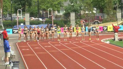 Women's 1500m, Final - Katie Mackey drops the field