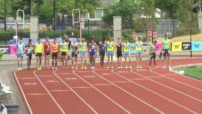 Men's 1500m, Final - Ok State's Josh Thompson with the upset