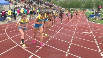 Girl's 800m, Final - Sammy Watson takes the victory