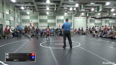 100 lbs Kurt McHenry, VA vs Jaden TwoLance, TX