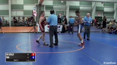 120 lbs Brody Teske, IA Gold vs Alexander Cruz, Washington